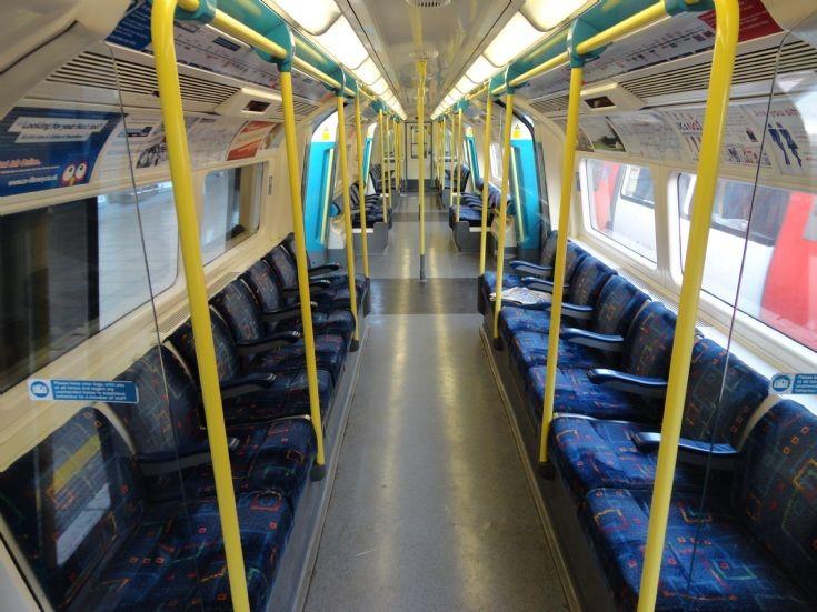 Jubilee Line Car Interior 1
