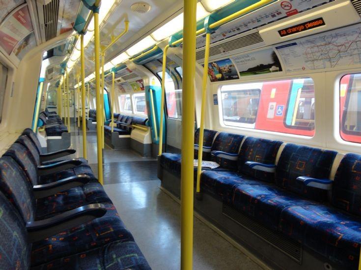 Jubilee Line Car Interior 2