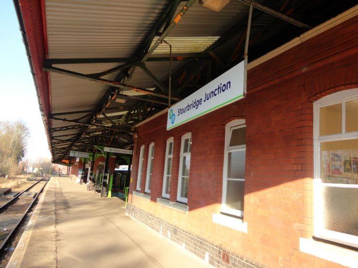 Stourbridge Junction Station Sign