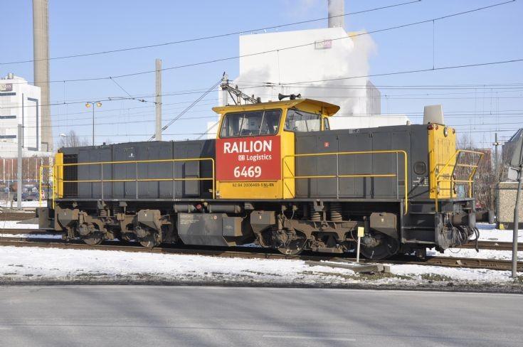 Railion 6469 MaK Diesel locomotive