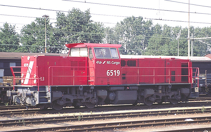 NS 6519 at Roosendaal The Netherlands