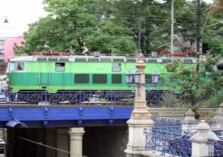 PKP Co-Co electric ET22-114 in Krakow