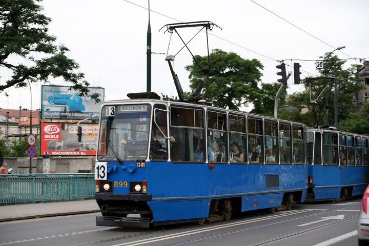 Konstal 105Na tram no. 899