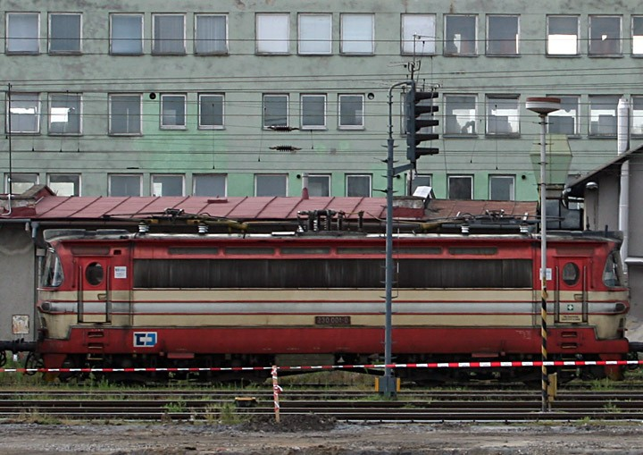 Czech Railways Class 230 230 001-0