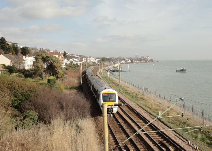 Approaching Chalkwell