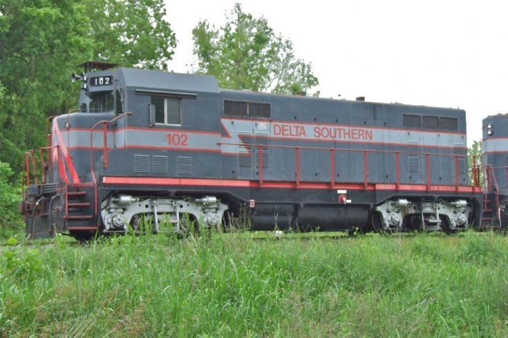 Louisiana Short Line. EMD CF7