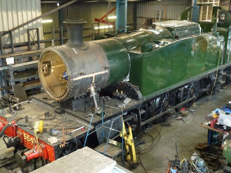 5542 in the workshop