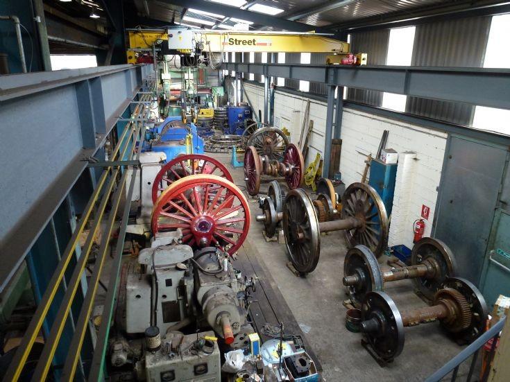 Wheel repair shop