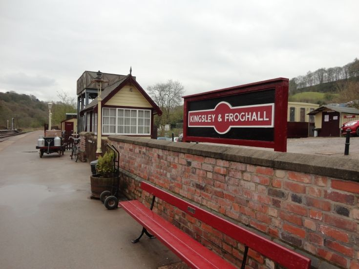 Kingsley & Froghall Station Sign