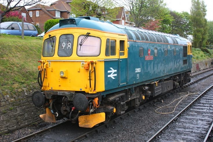 33103 at Swanage