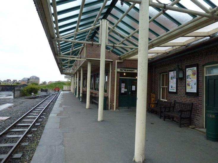 Towyn station on the Talyllyn Railway