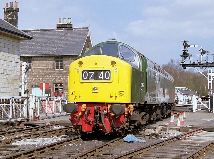 D345 at Grosmont