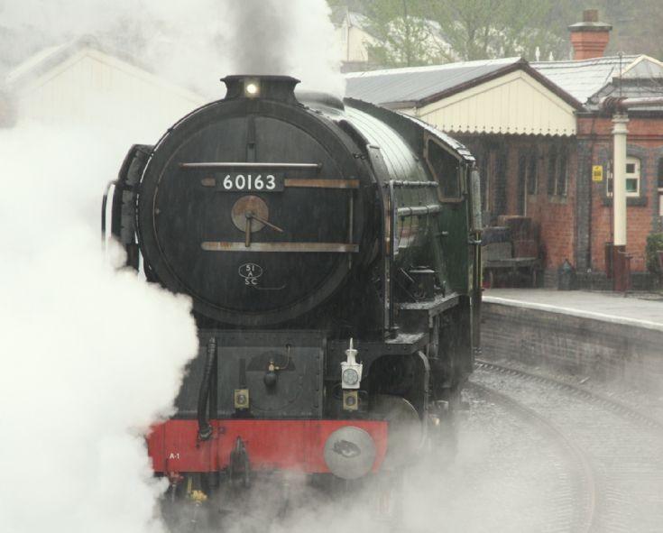 Tornado at Llangollen Railway