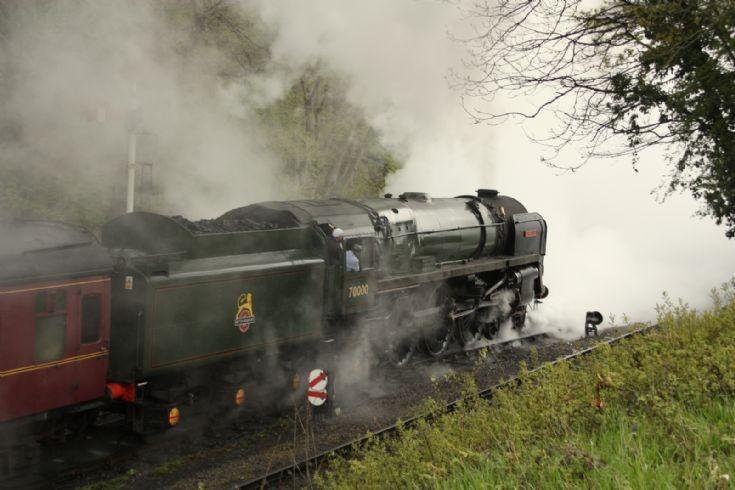 Britannia at Llangollen Railway