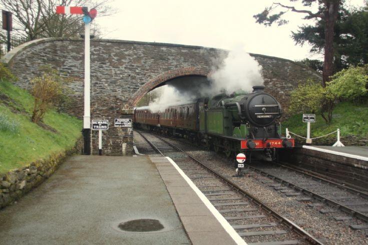 Locomotive 1744 at Llangollen Railway