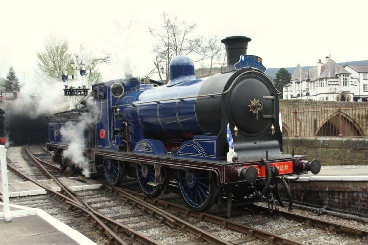 Caledonian at Llangollen Railway