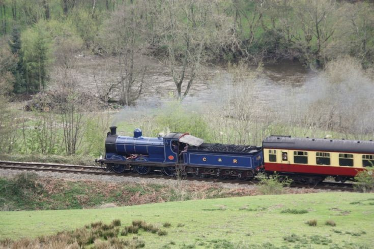 Loco seen at Llangollen Railway