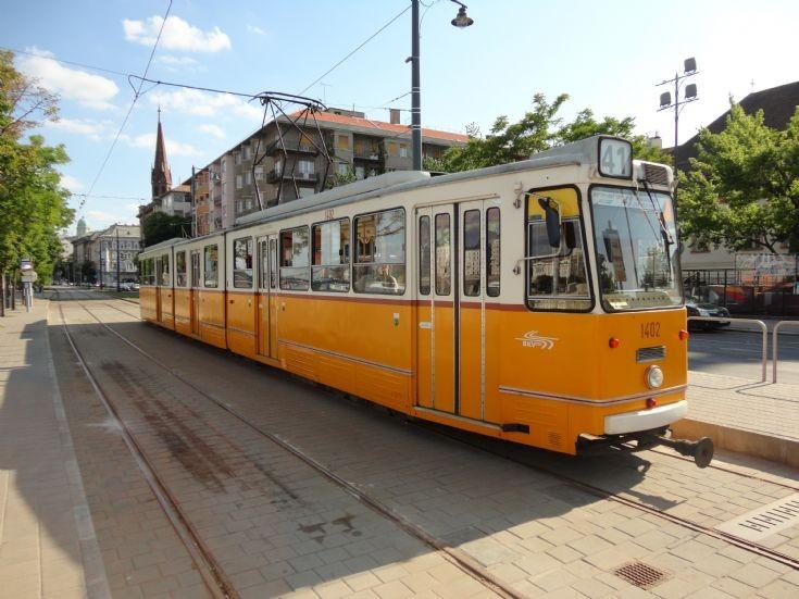 Budapest Tram 1402