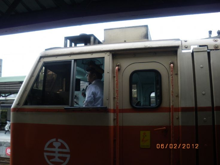 Medium Express Train in Taiwan