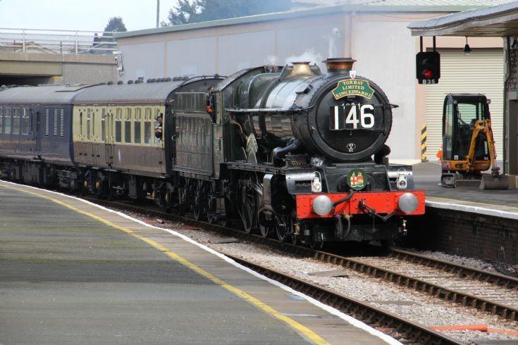 6024 King Edward 1 at Churston