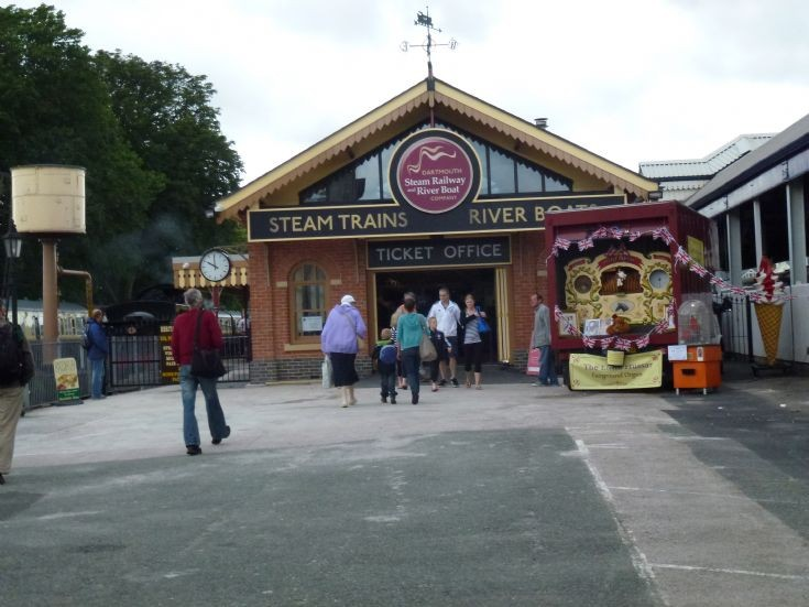 The new station at Paignton