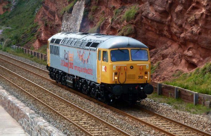 Diesel locomotive 56312