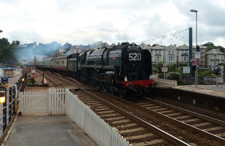 70000 Britannia 'Torbay Express'