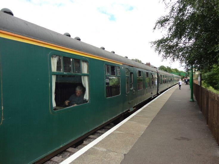 train at North Weald