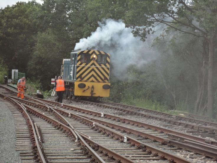 Eppin-Ongar railway at North Weald