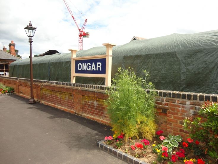 Ongar Station Sign