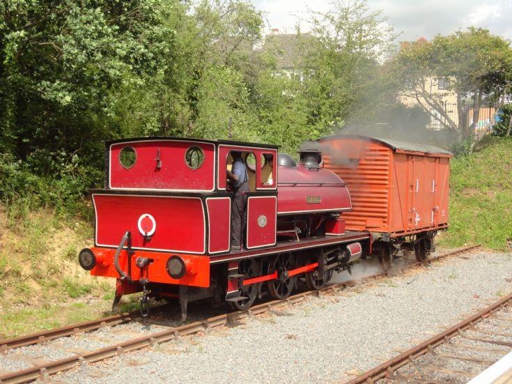 Steam locomotive Isabel