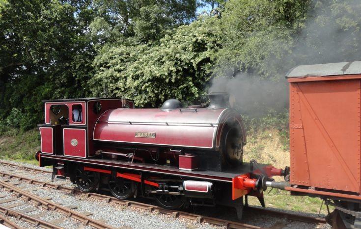Isabel under steam