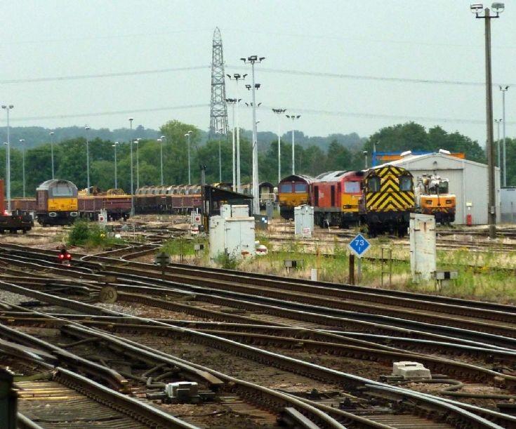 Eastleigh Freight Collecting Sidings