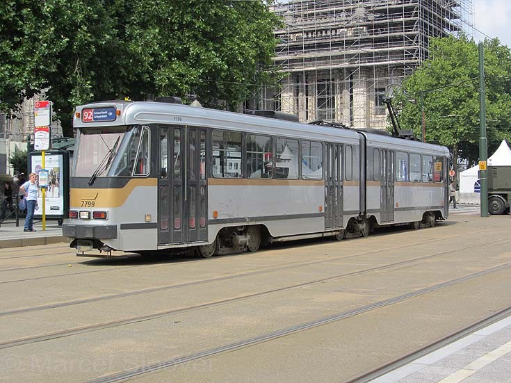 Tram 7799 Brussels