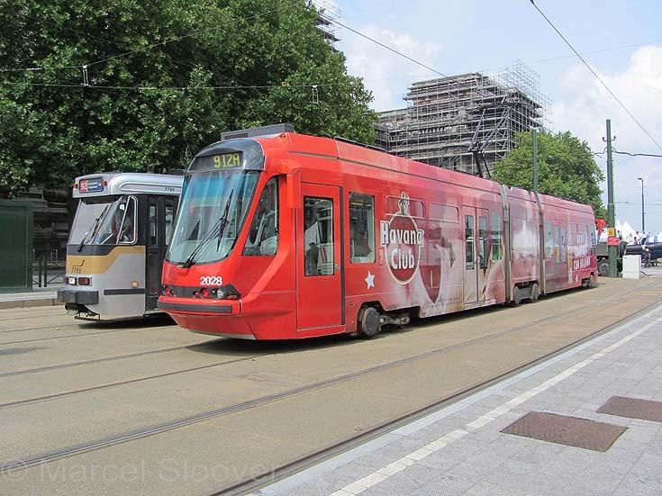 Tram MIVB Brussels