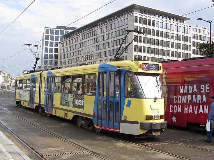 Tram 7798 MIVB Brussels