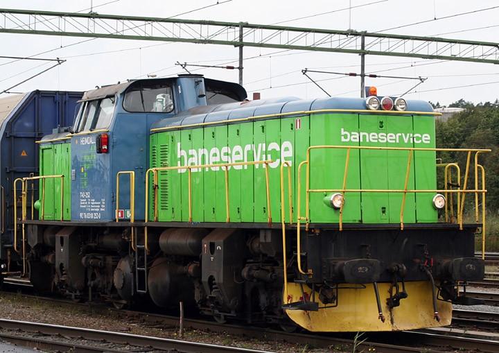 Bo-Bo Diesel shunter T43 252