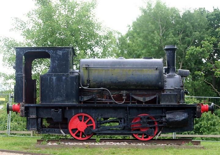 Hudswell Clarke 0-4-0ST No. 498