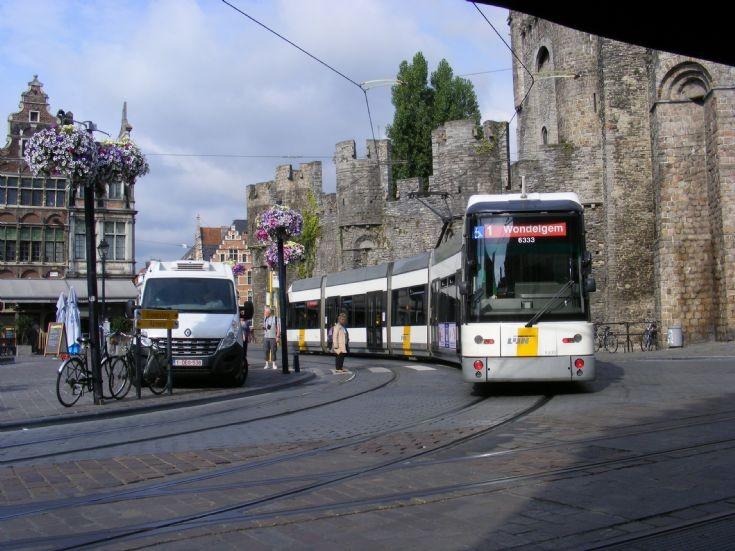 Ghent, Belgium Tramway