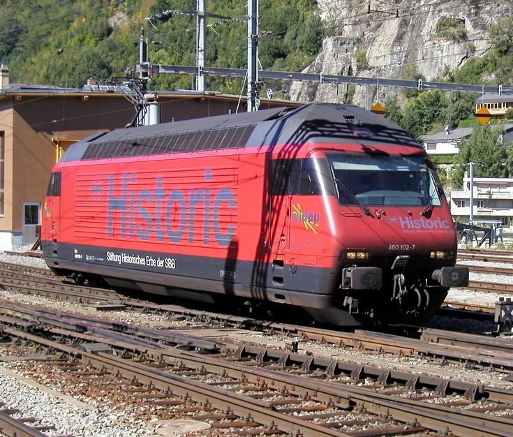 SBB class 460 Historic
