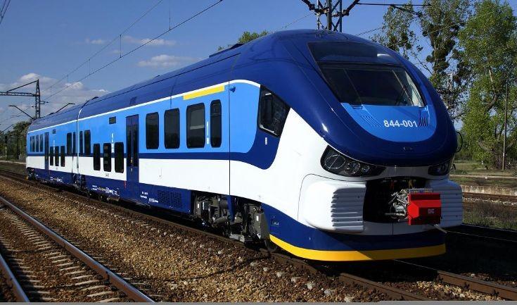 Diesel train PESA in Czech rep.