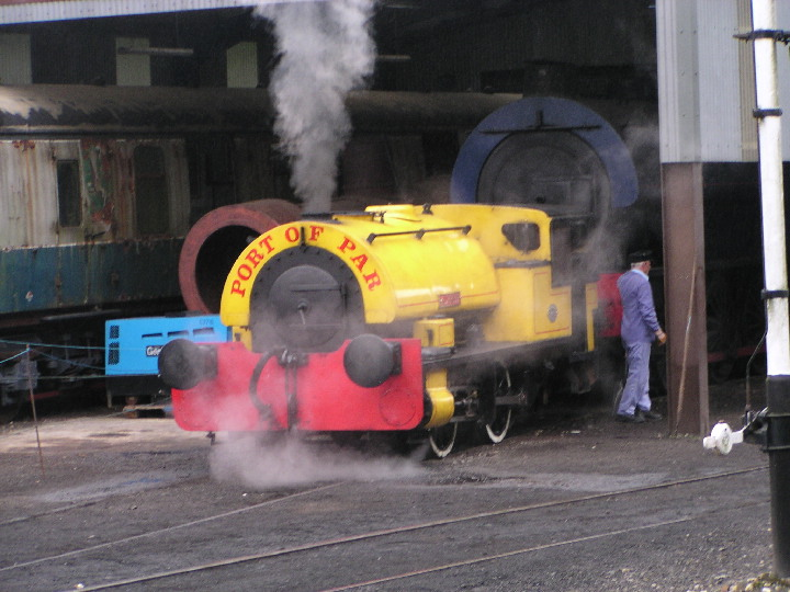 0-4-0ST 3058 Alfred at Bodmin