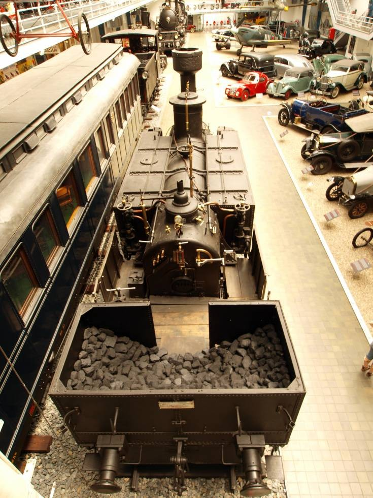 Locomotive at National Technical Museum