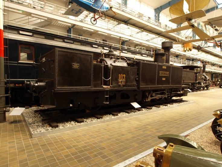 Photo of Kladno steam locomotive