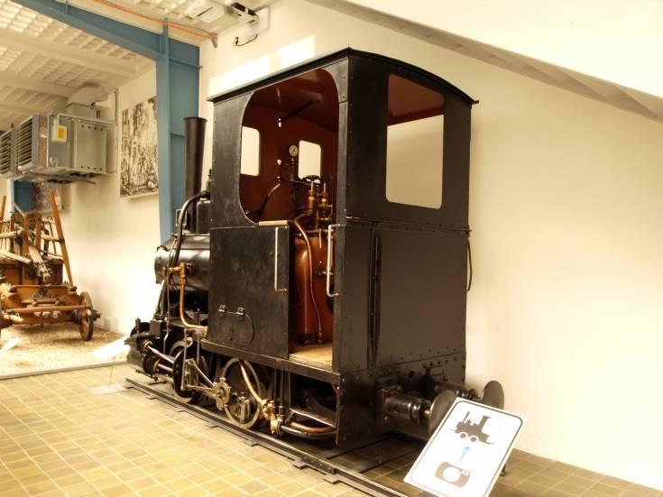 1884 industrial steam locomotive