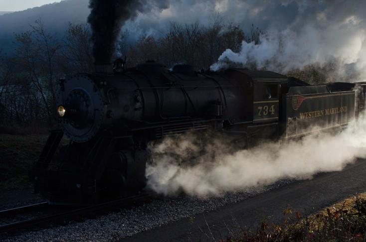 Western Maryland Scenic Railroad 734