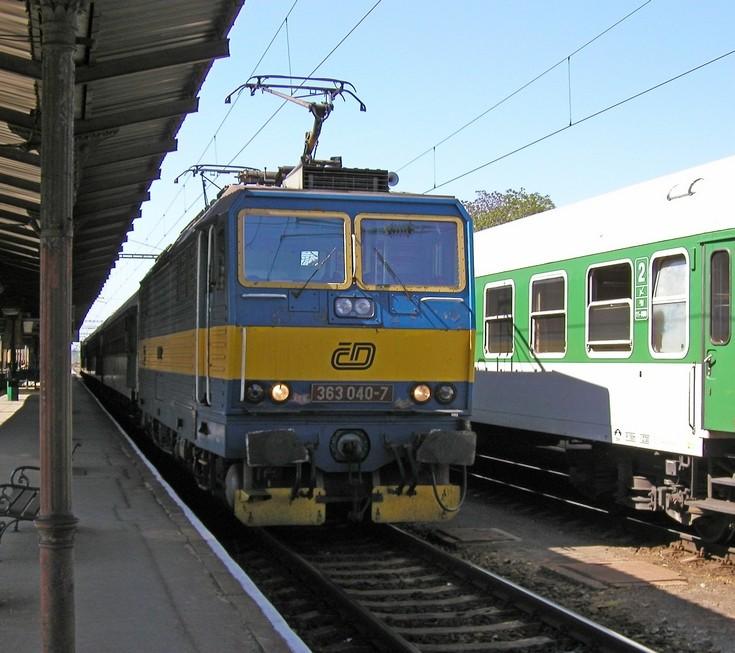 Czeck Railways class 363