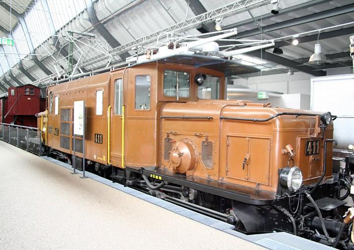 G3e 6/6 electric locomotive no. 411