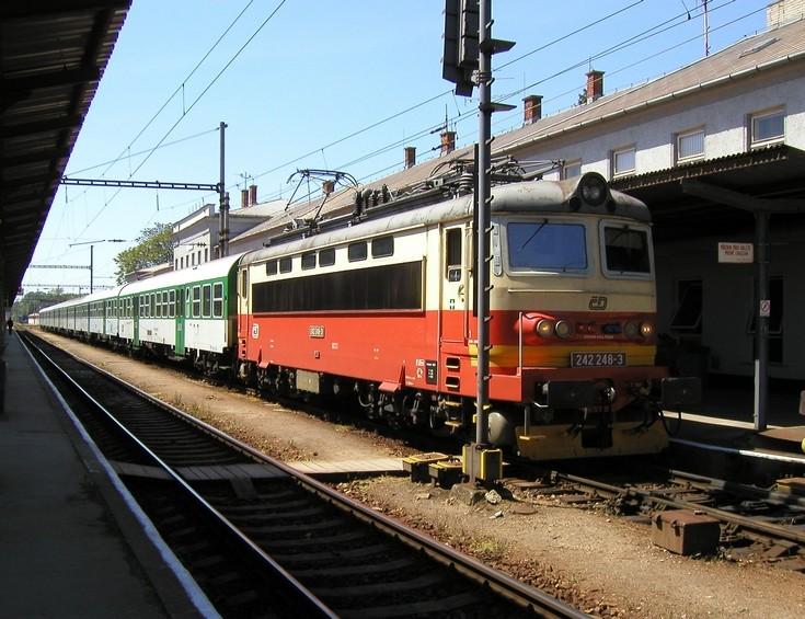 CD locomotive number 242 248-3