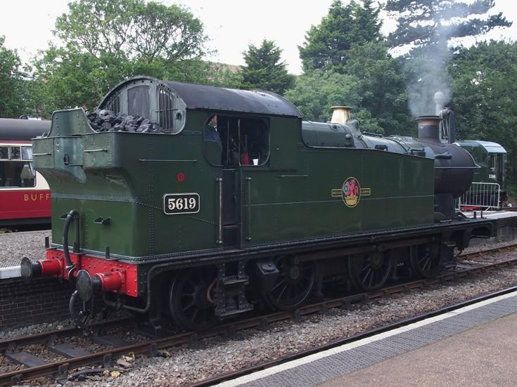 Steam locomotive 56xx 0-6-2T - 5619